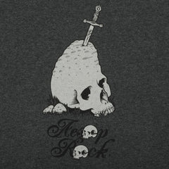 Aesop Rock - Rock Shirt, Heather Charcoal - The Giant Peach - 2