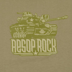 Aesop Rock - Tank Shirt, Khaki - The Giant Peach