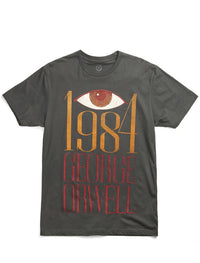 Out Of Print - 1984 (Bacon Version) Men's Shirt, Heavy Metal - The Giant Peach