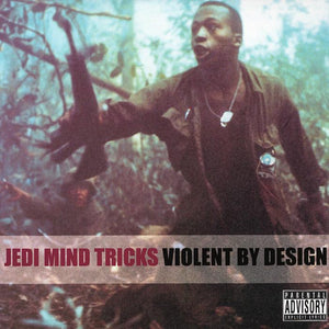 Jedi Mind Tricks - Violent By Design 2xLP (Clear Vinyl)