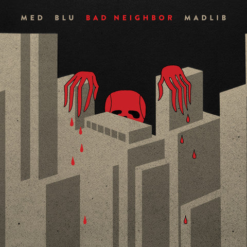 MED, Blu, Madlib - Bad Neighbor, CD - The Giant Peach