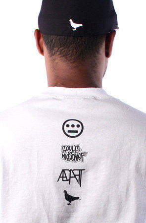 Adapt x Souls of Mischief - 93 'til Infinity Men's Shirt, White - The Giant Peach - 2