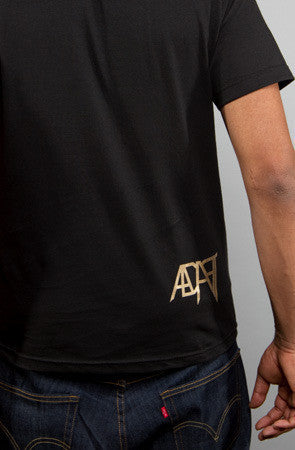 Adapt - Full Faith Men's Shirt, Black/Gold