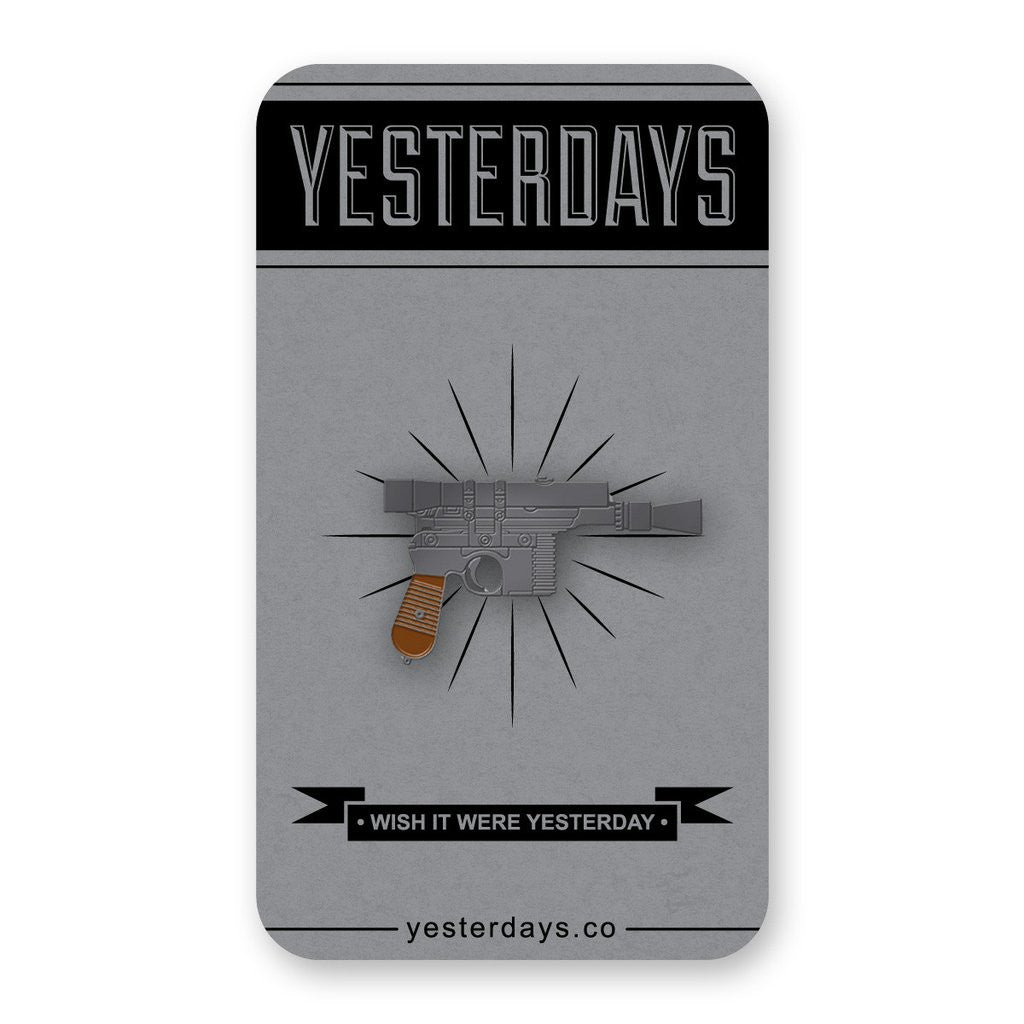 Yesterdays - Rebel Blaster Pin - The Giant Peach