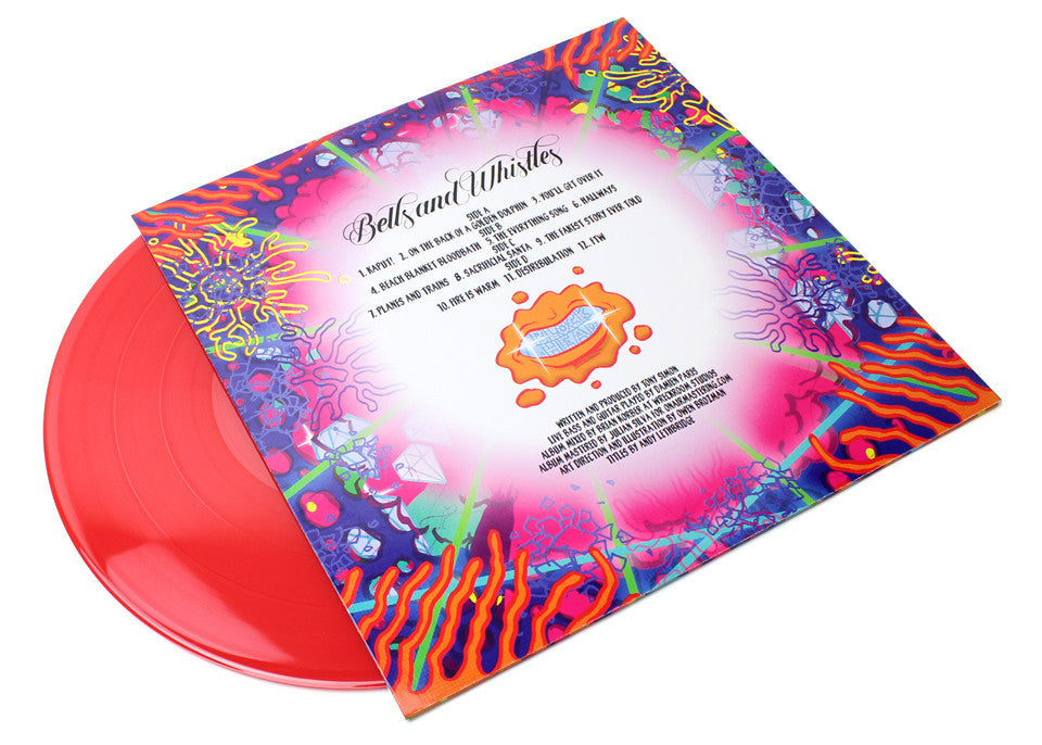 Blockhead - Bells & Whistles 2xLP Red Vinyl - The Giant Peach