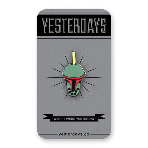 Yesterdays - Boba Fett Pin