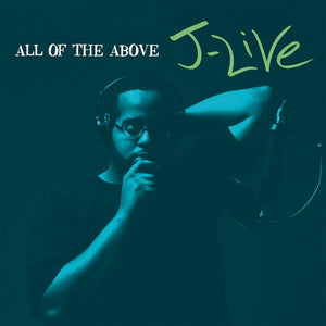 J-Live - All Of The Above 2xLP Blue Vinyl