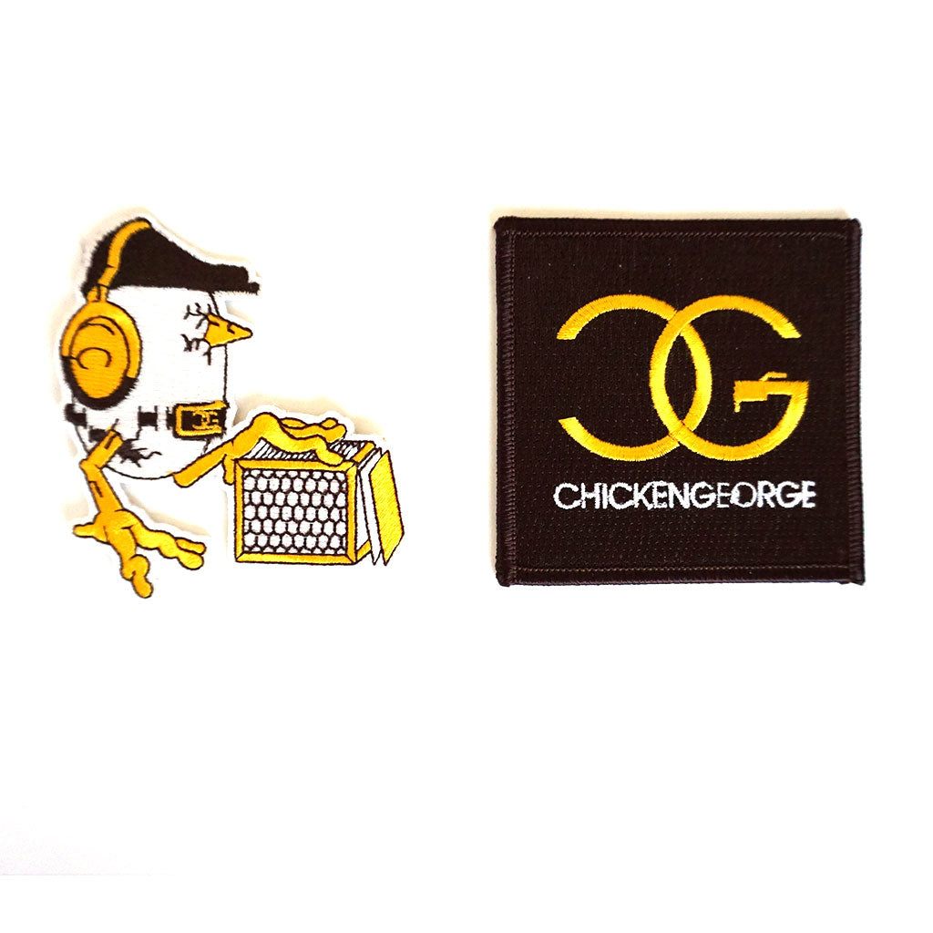DJ Chicken George patches