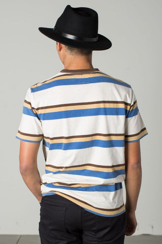 Brixton - Clive Men's S/S Knit Tee, Off White