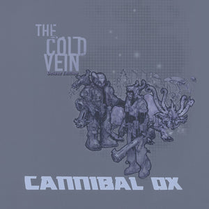 Cannibal Ox - The Cold Vein Deluxe Edition,  4xLP Blue Vinyl