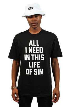 Adapt x Breezy Excursion - All I Need Men's Tee, Black - The Giant Peach - 1