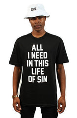 Adapt x Breezy Excursion - All I Need Men's Tee, Black - The Giant Peach