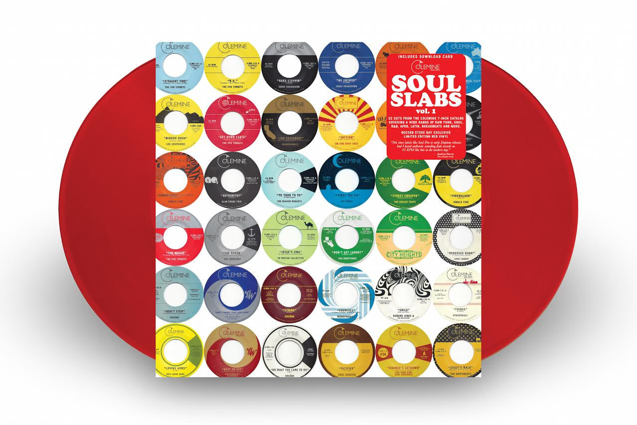 V a soul slabs volume 1 2xlp red vinyl record store for Abc salon supply