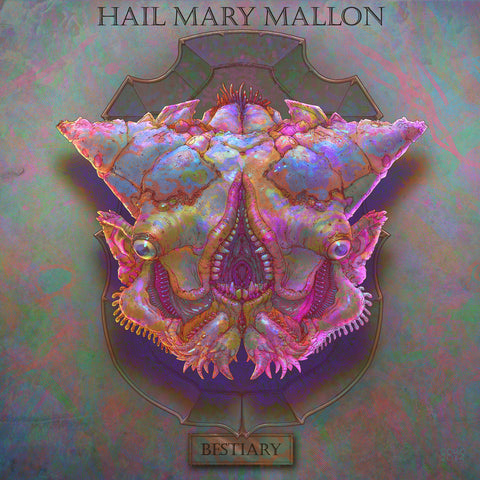 Hail Mary Mallon - Bestiary, Picture Disc LP Vinyl (Gorlonk Artwork)
