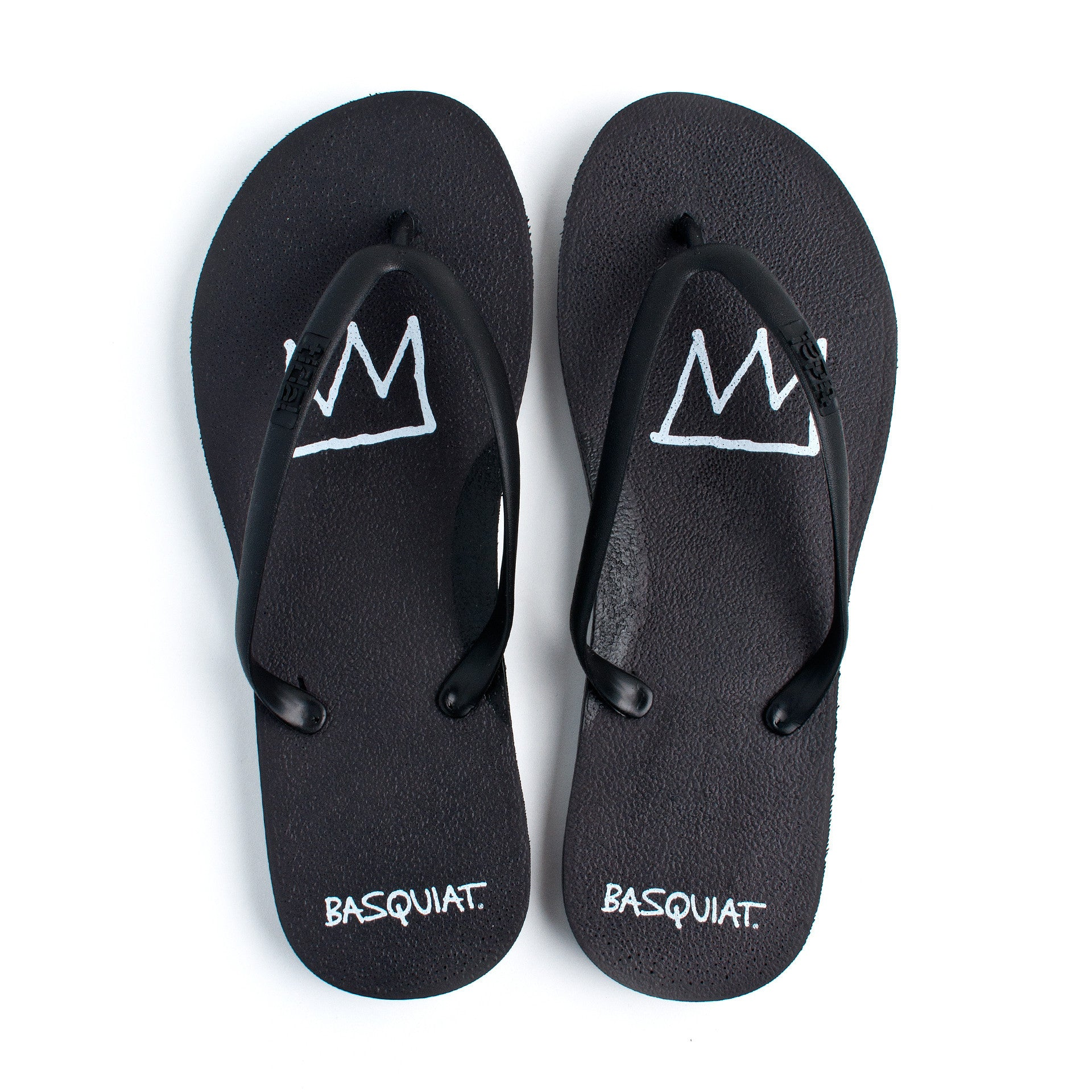 177e7db0a72 Tidal - Jean-Michel Basquiat Crown Women s Flip Flops