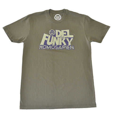 Del The Funky Homosapien - D-Funk Men's Shirt, Military