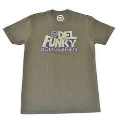 Del The Funky Homosapien - D-Funk Men's Shirt, Military - The Giant Peach