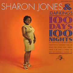 Sharon Jones & The Dap-Kings - 100 Days 100 Nights, LP Vinyl - The Giant Peach - 1