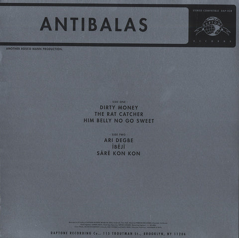 Antibalas - Antibalas, LP Vinyl w/ Download Code