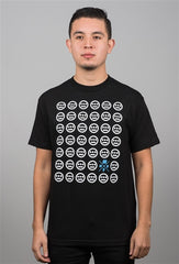 delHIERO x Illest Men's Shirt, Black - The Giant Peach