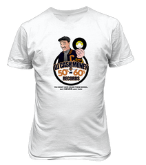 DJ Cash Money 50s vs 60s T-shirt & CD & USB - The Giant Peach