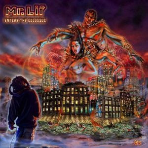 Mr. Lif - Enters The Colossus, EP Vinyl