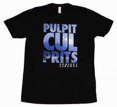 Homeboy Sandman - Pulpit Culprits Men's Tee, Black - The Giant Peach