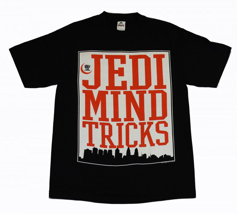 Jedi Mind Tricks - Philly Skyline Men's Shirt, Black - The Giant Peach