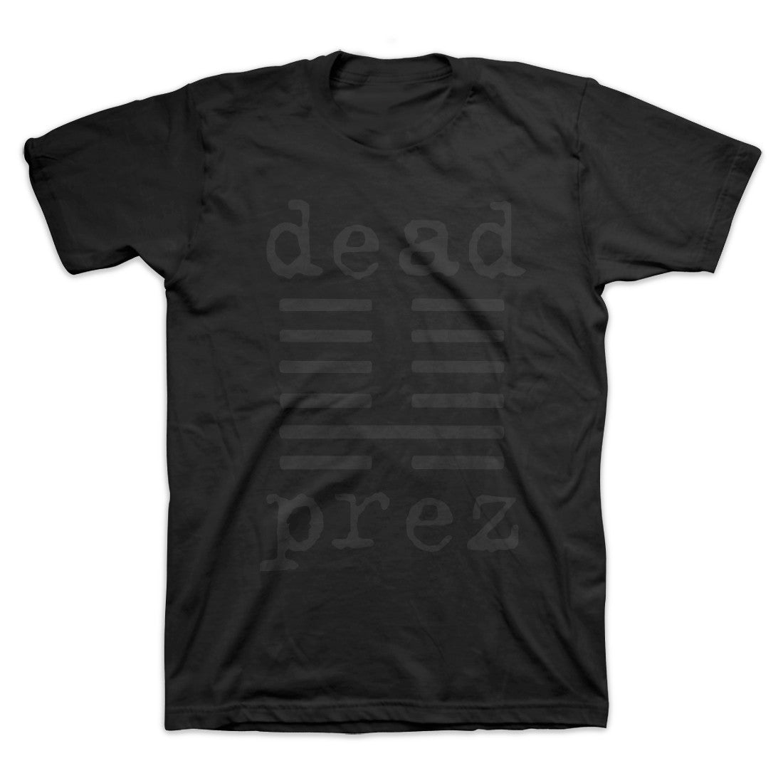 dead prez - Black Logo Men's Shirt, Black