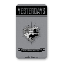 Yesterdays - Love Is A Battle Station Pin