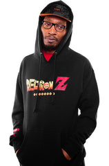 Adapt x Deltron - Deltron-Z Men's Hoodie, Black - The Giant Peach