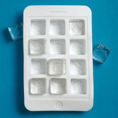 Gama-Go - iCubes Ice Cube Tray - The Giant Peach - 1