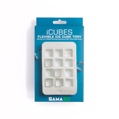 Gama-Go - iCubes Ice Cube Tray - The Giant Peach - 4