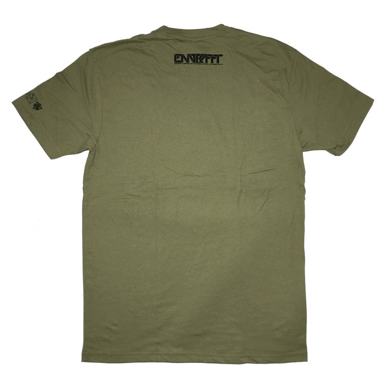 ENGRAFFT - Grafted Redwood Men's Tee, Hemp Green