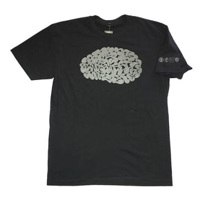 ENGRAFFT - Mental Graffiti 2 Men's Tee, Black/Glow in the Dark Ink