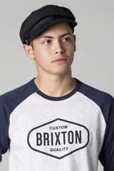 Brixton - Fiddler Cap, Black - The Giant Peach