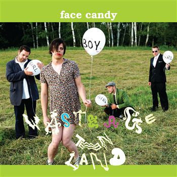 Face Candy - Waste Age Teen Land CD+DVD - The Giant Peach