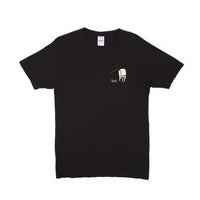 RIPNDIP - Nermali Men's Tee, Vintage Black - The Giant Peach