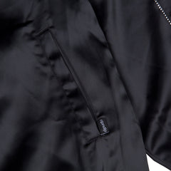 RIPNDIP - Share Some Love Satin Men's Jacket, Black - The Giant Peach