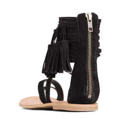 Jeffrey Campbell - Glady Sandal, Black Suede - The Giant Peach