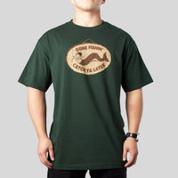 SuperFishal - Gone Fishin Men's Shirt, Forest - The Giant Peach