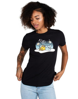 tokidoki x gudetama - Gude Under Water Women's Tee, Black