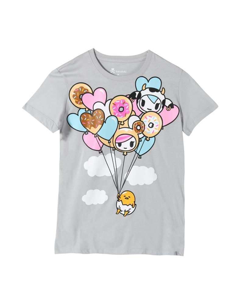 tokidoki x gudetama  Float On Women's Tee, Storm