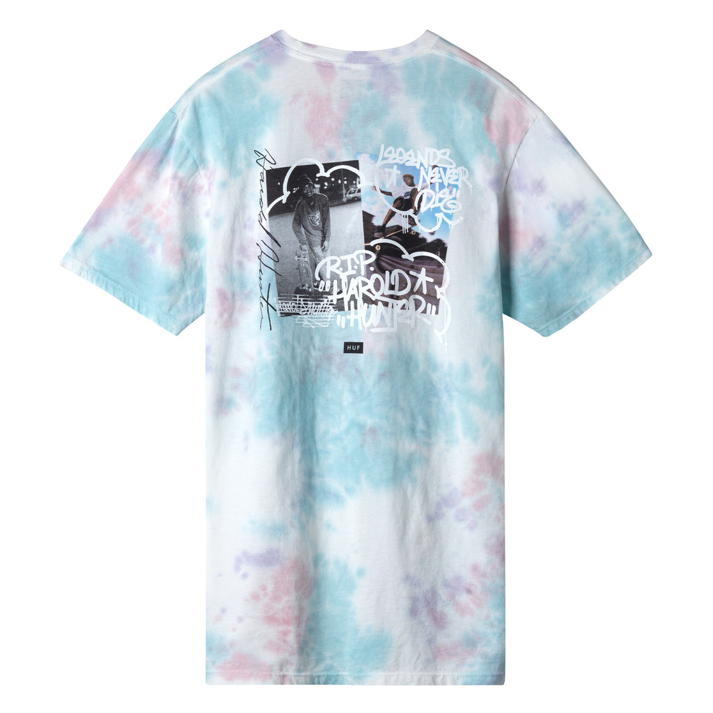 HUF x Harold Hunter Foundation 2019 Men's Tee, Light Blue