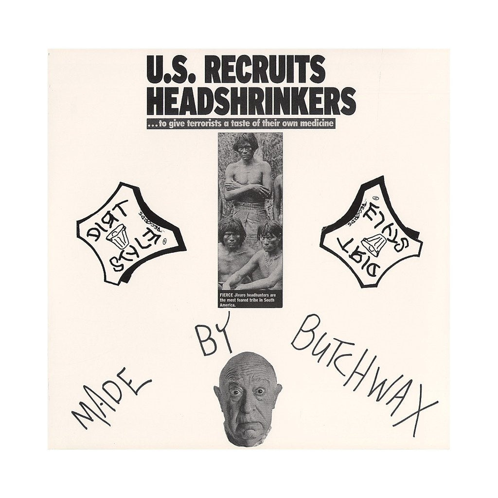 "Butchwax - Head Shrinker, 12"" Vinyl - The Giant Peach"