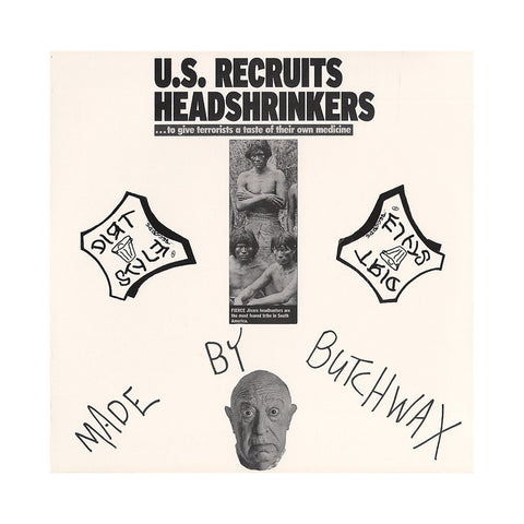 "Butchwax - Head Shrinker, 12"" Vinyl"