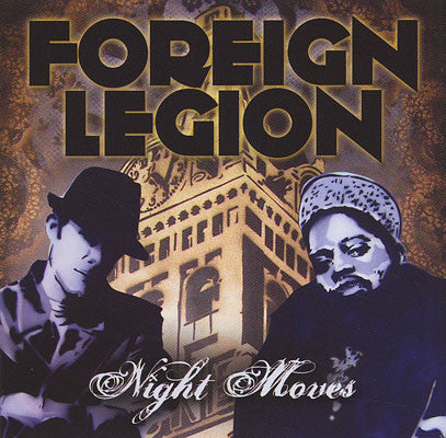 Foreign Legion - Night Moves, CD - The Giant Peach