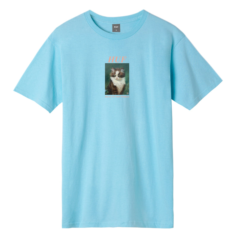 HUF - Lost Men's Tee, Greek Blue