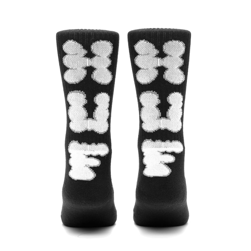 HUF - Huf N Puff Socks, Black
