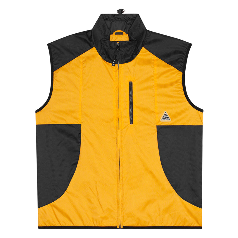 HUF - Peak Tech Men's Vest, Persimmon